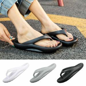 Womens Arch Support Soft Flip Flops Thong Cushion Lightweight Beach Sandals.Shoe