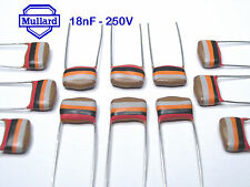 Mullard Tropical Fish Capacitors  18nF - 250V   x 1000 pieces