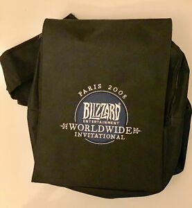 EPIC Blizzard Worldwide International 2008 Backpack full of legendary loot!