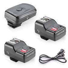 Neewer 16 Channel Wireless FM Speedlite Radio Trigger With 2.5mm PC Receiver for