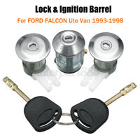 AU Door Lock & Ignition Barrel For Ford Falcon XG XH Ute Van 1993-98 Sets &