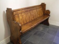 Church Pew - Bench -  4/5/6 ft - Antique/ French Oak - Sefton