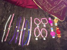 JOBLOT 17 x Pulseras Hello Kitty niñas nuevo partido Bolsas Cierre De Tienda
