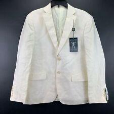 Lauren Ralph Lauren Mens UltraFlex Linen Solid Blazer Off White 40S