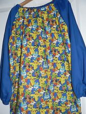Kids Art Smocks  4 To 8 Years old (Pokemon Print) Fist name free embroidered.