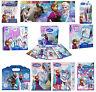 Disney Frozen Princess Anna Elsa Fun Activity Stationery Art Travel Set New Gift