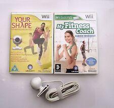 La sua forma e la fotocamera e il Mio Coach Di Fitness CARDIO WORKOUT Wii PAL