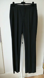 Chloe black wool trousers NEW 40 UK 12