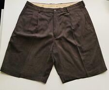 Tommy Bahama Relax Mens Silk Shorts sz 35 Brown 🏝