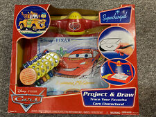 Drawing Projector Set Toy Project & Draw Cars Character By Disney Pixar Cars New