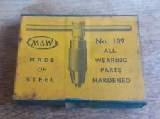 Vintage Moore & Wright Tap Holder No 109 in Original Box