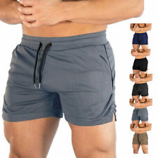 Men's Gym Workout Shorts Running Short Pants Fitted Training Weightlifting