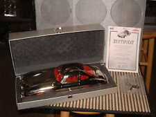 MARKLIN 4OTH ANNIVERSARY MODEL OF THE 1952 MERCEDES GULLWING 300SL IN BARE METAL