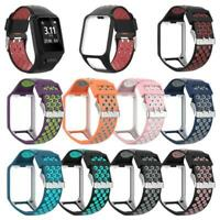 Two-tone Silicone Replacement Wrist Band Watch Strap For TomTom Runner2 3 Spark3
