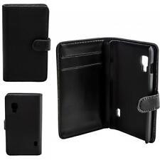 Schutz Tasche Handy Etui LG E460 Optimus L5 II 2 Bookstyle Case Flip Cover Hülle