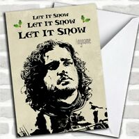 Game Of Thrones Jon Snow Personalized Christmas Card