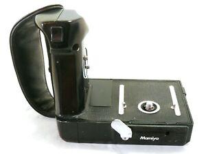 Mamiya M645 1000S Motor Drive Power Winder Hand Grip EXC #6611