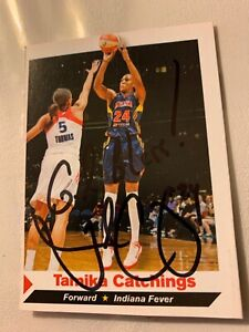 TAMIKA CATCHINGS AUTOGRAPHED SPORTS ILLUSTRATED FOR KIDS CARD