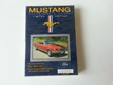 FORD MUSTANG COLLECTABLE CARDS 25-Card FACTORY SEALED MINT SET Limited Edition
