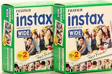 Fujifilm Fuji INSTAX WIDE  Film 4 x 10 = 40 Bilder für Instax 100 200 210 300