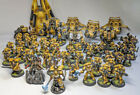 Space Marines Imperial Fists Army - Fully Painted - Warhammer 40,000 (40k)