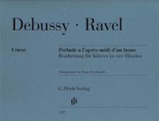 Henle Urtext Debussy Prelude a l'apres-midi d'un faune