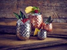 Copper Pineapple/Cocktail Glass 44cl/15.5oz, Bar, Restaurants, Hotels, Desserts
