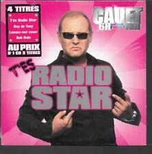 CD SINGLE 4 TITRES--CAUET--T'ES RADIO STAR--2005--NEUF / SEALED