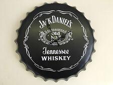Authentic Vintage Jack Daniels Large Wall Clock Retro Man Cave Bar Mens Xmas