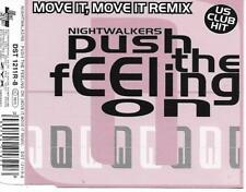 NIGHTWALKERS - Push the feeling on (REMIX) CDM 3TR Euro House 1994 Germany