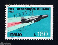 ITALIA 1 FRANCOBOLLO AERONAUTICA MILITARE 180 LIRE 1973 usato