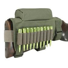 Tourbon Buttstock Cheek Rest Riser Magazine Slide Carrier Bullets Holder Empty