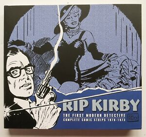 Rip Kirby First Modern Detective Complete Comic Strips HC IDW Graphic Novel Book
