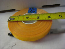 """.1/2"""" x   50'  Roll  AMBER YELLOW GOLD REFLECTIVE  TAPE"""