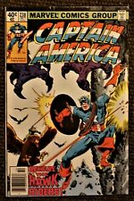 Captain America #238 (1979 Marvel) Nick Fury appearance FN+