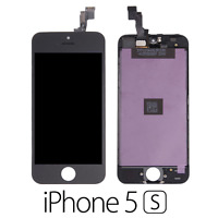 IPHONE 5S LCD SCHERMO DISPLAY RETINA TOUCH SCREEN VETRO FRAME NERO