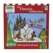 * MERRY GRINCHMAS * THE GRINCH Puzzle DR. Seuss 100pc.Christmas