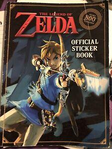 The Legend of Zelda Official Sticker Book [Nintendo] , Carbone, Courtney