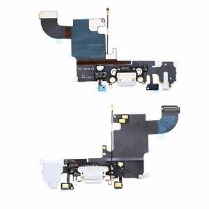 Flex Dock Conector De Carga Power Microfono y Jack Auricular Iphone 6S Blanco