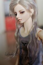 1 3 8-9 Bjd Wig MSD Dal Pullip BJD SD DOD LUTS Dollfie Doll Wigs Silver
