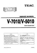 Service Manual-Anleitung für Teac V-7010,V-5010