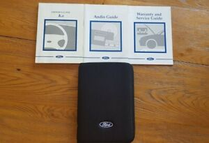 FORD KA (1996 - 2002) Owners Manual / Handbook + Audio Guide + Wallet