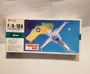 Hasegawa Airplane Hobby Kit McDonnell Douglas RAAF F/A-18A Hornet Complete