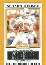 Peyton Manning 2019 Panini Contenders Draft Picks #80 Colts Tennessee Volunteers