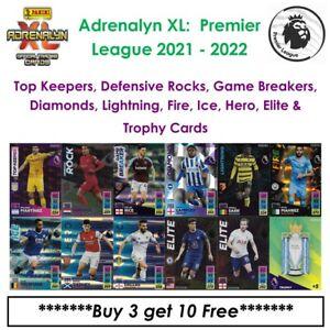 Adrenalyn XL - Premier League 2021 - 22: Elite, Lightning, Diamond, Keepers, Etc