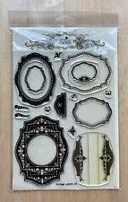 NEW Waltzing Mouse Clear Stamps Vintage Labels 18 Spellbinder Nestabilities Die