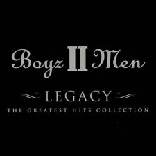 BOYZ II MEN (NEW SEALED CD) LEGACY GREATEST HITS VERY BEST OF (END OF THE ROAD)
