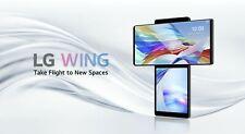 LG WING LM-F100N   128GB 5G Swivel   Factory Unlock Sealed Korean Intl Ver.