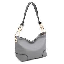 New Dasein Women Handbag Faux Leather Hobo  Tote Bag Shoulder Bag Large Purse