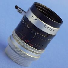 Kern-Paillard Switar 5.5mm 1.6 H8 RX Lens